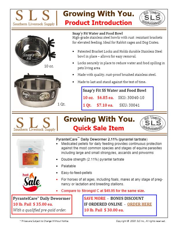 April Sales sheet and product intro-thumbnail